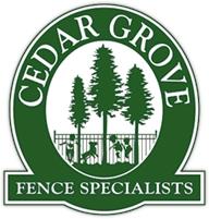 CEDAR GROVE FENCE SPECIALISTS